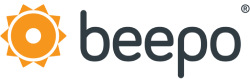 Beepo outsourcing registered trademark logo