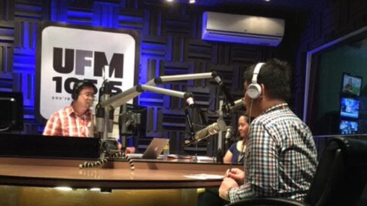 Beepo's 1st anniversary and radio guesting at 105.5 FM.