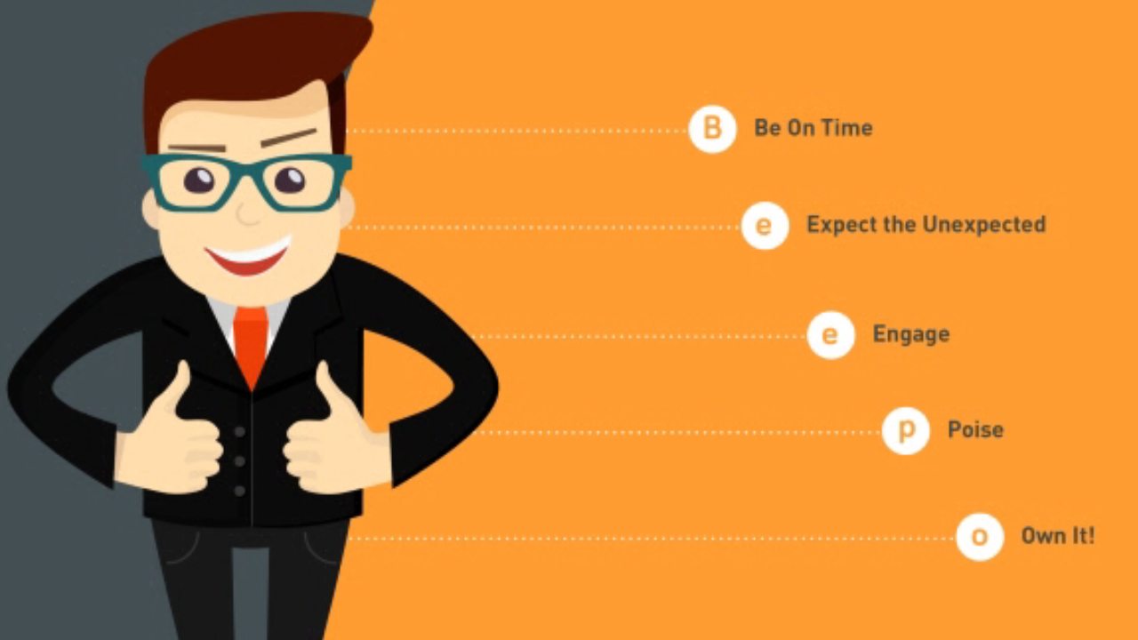 How to Ace your interview tips Infographic.