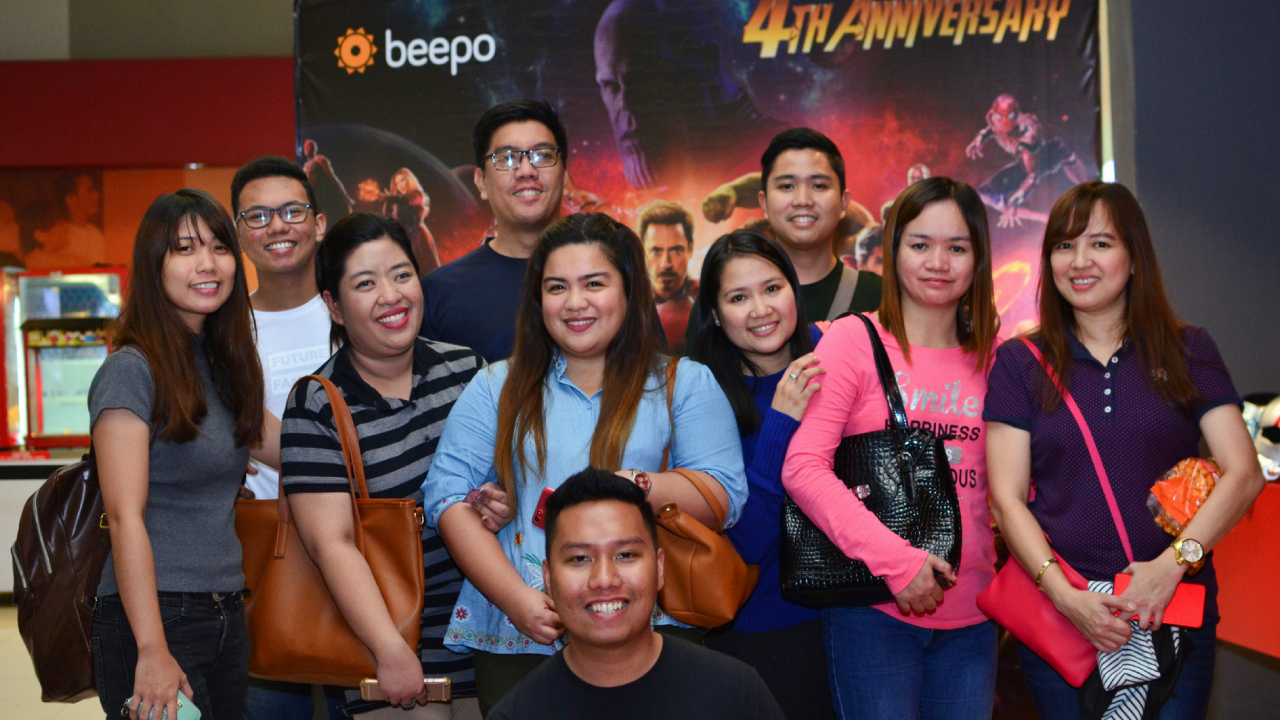 Beepo's 4th Anniversary comes with a Block Screening of Avengers.
